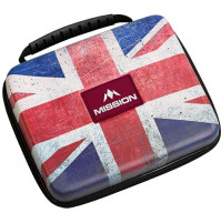 Mission Freedom Luxor Wallet Dartkoffer Dartetui Union Jack XXL